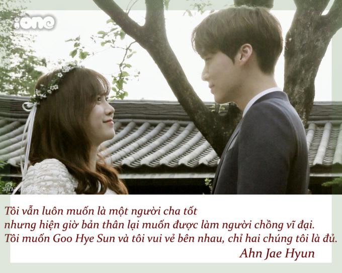 <p> Khi tham gia show thực tế Nhật ký trăng mật, Ahn Jae Hyun nói đã hài lòng với cuộc sống chỉ có hai vợ chồng và thú cưng.</p>
