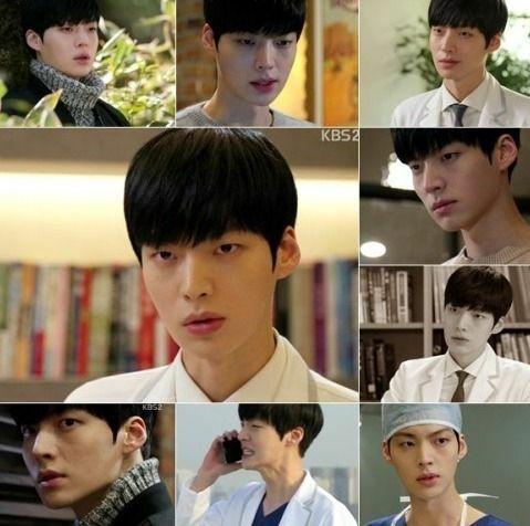 Khuôn mặt nhạt nhẽo của Ahn Jae Hyun trong phim.