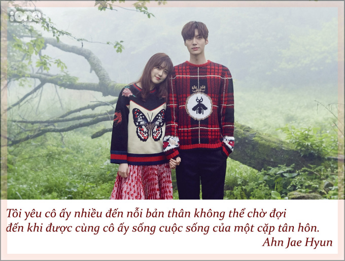 """<p> Trên chương trình """"Happy Together"""", Ahn Jae Hyun từng thổ lộ muốn kết hôn sớm vì gia đình sẽ mang lại cảm giác an toàn.</p>"""