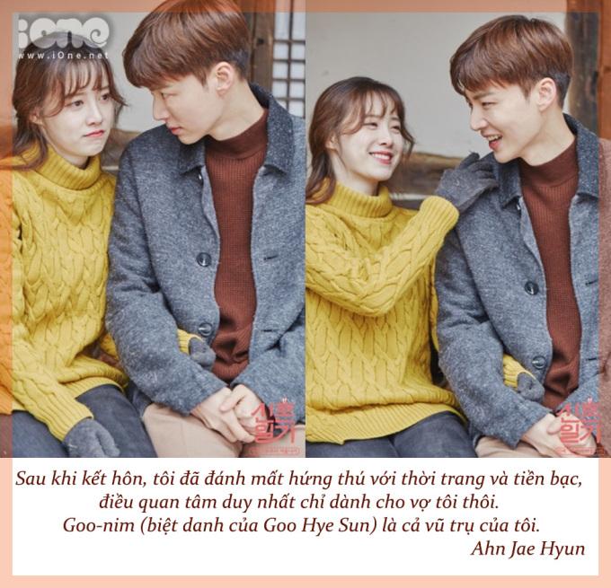 <p> Ngày 18/8, thông tin Goo Hye Sun - Ahn Jae Hyun ly hôn trở thành tâm điểm chú ý của làng giải trí Hàn. Từ một cặp đôi ngọt ngào, lãng mạn, Goo Hye Sun công bố tin nhắn và tố cáo chồng thay lòng đổi dạ, hết tình cảm. Công chúng tỏ ra tiếc nuối câu chuyện tình đẹp như tiểu thuyết của hai ngôi sao đình đám xứ Hàn.</p>