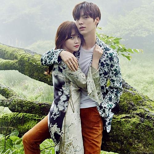 Vợ chồng Ahn Jae Hyun - Goo Hye Sun thuở mặn nồng.