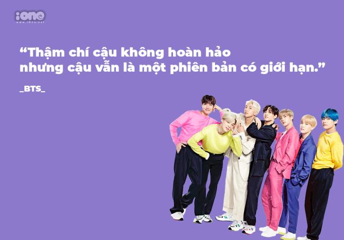 Những câu nói truyền cảm hứng của BTS