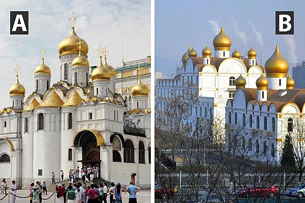 Kiến trúc này là hàng thật hay hàng Trung Quốc?