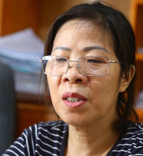 Bà Nguyễn Bích Quy. Ảnh: Huyền Vũ.