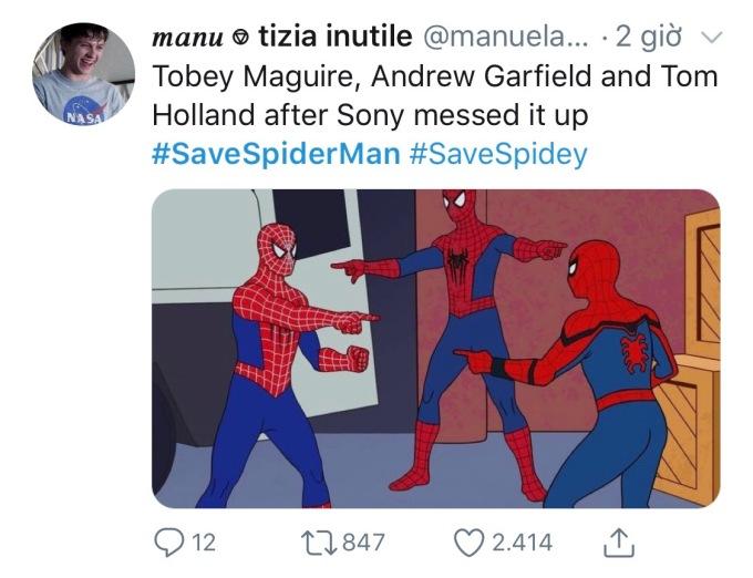 <p> Sony từng tự thực hiện ba phim về Spider-Man do Tobey Marguire đóng chính, nhưng càng làm càng dở. Sau đó, hãng làm tiếp hai phần <em>Amazing Spider-Man</em> với diễn xuất của Andrew Garfield nhưng kết quả vẫn không khả quan hơn.</p>