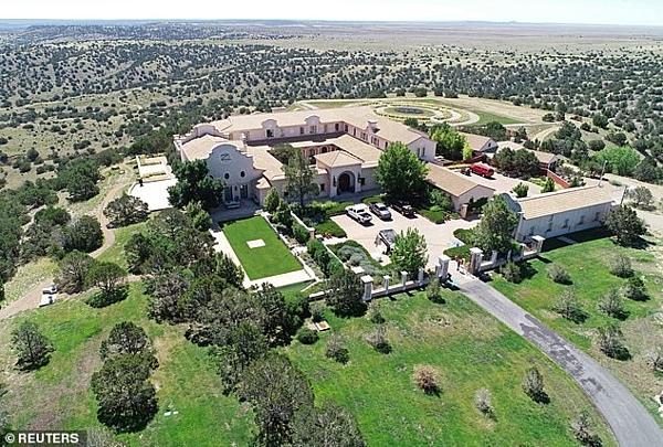 Zorro Ranch, một trong những tài sản thuộc sở hữu của nhà tài chính Jeffrey Epstein. Ảnh: Reuters.