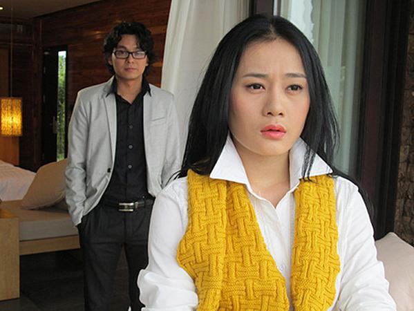 Năm 2014, Phương Oanh tham gia phim Lời thì thầm từ quá khứ. Nhan sắc của cô không có quá nhiều thay đổi.