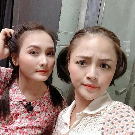 Bảo Thanh và Thu Quỳnh.