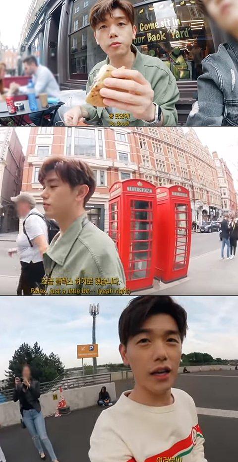 Eric Nam tự quay video và cẩn thận biên tập kỹ lưỡng từng khung hình.