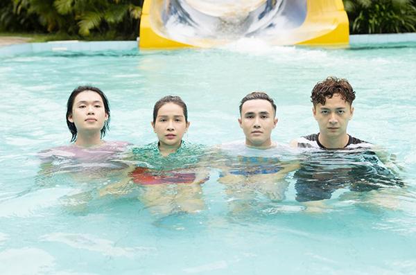 Bộ tứ Quang Trung, Khả Như, Huỳnh Lập, Ngô Kiến Huy gây cười với ảnh cực lầy.
