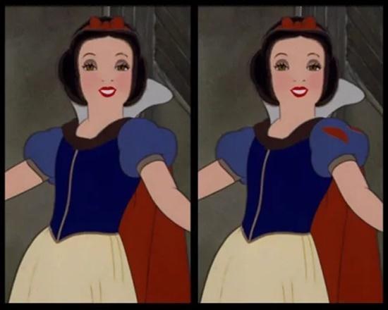 Có điểm gì khác biệt trên bộ váy của công chúa Disney?