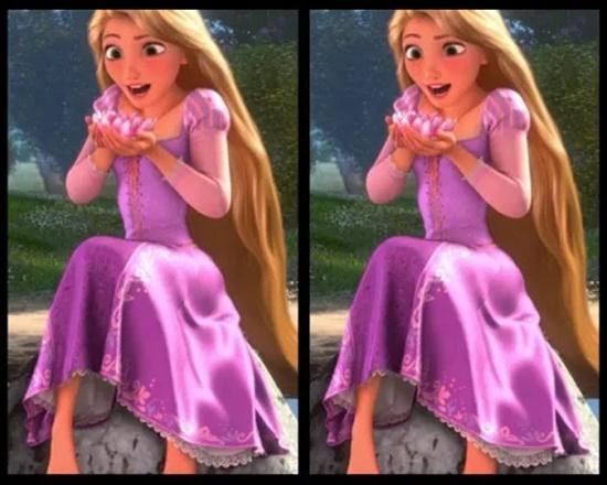 Có điểm gì khác biệt trên bộ váy của công chúa Disney? - 10