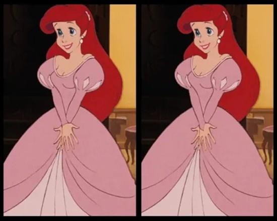 Có điểm gì khác biệt trên bộ váy của công chúa Disney? - 2