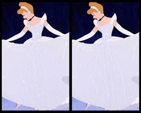 Có điểm gì khác biệt trên bộ váy của công chúa Disney? - 5