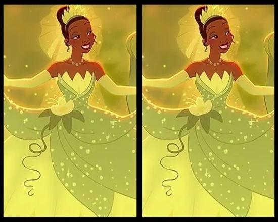 Có điểm gì khác biệt trên bộ váy của công chúa Disney? - 8