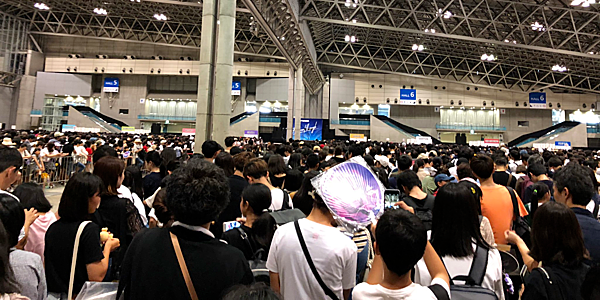 Cộng đồng fan của Twice tại Nhật rất đông đảo.