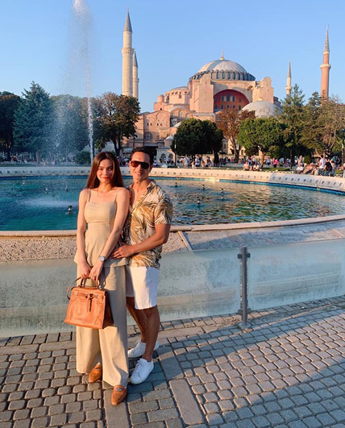 Hà Hồ - Kim Lý rủ nhau đi du lịch Thổ Nhĩ Kỳ.