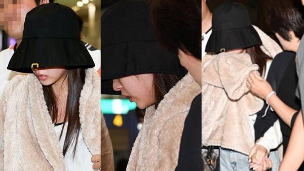 Lần xuất hiện gần nhất của Mina khiến fan lo lắng.