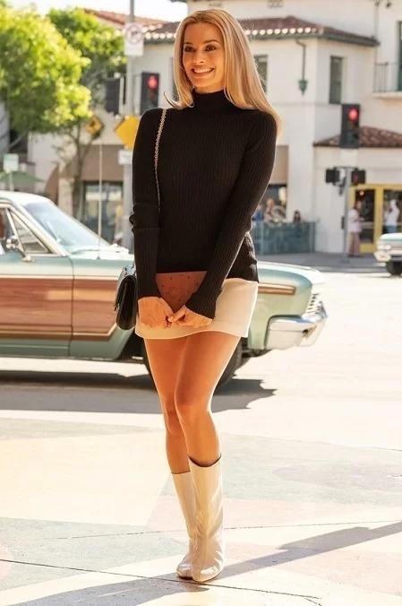 Margot Robbie sắm vai Sharon Tate.