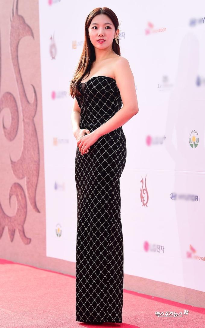<p> Nữ diễn viên Lee Chae Young.</p>