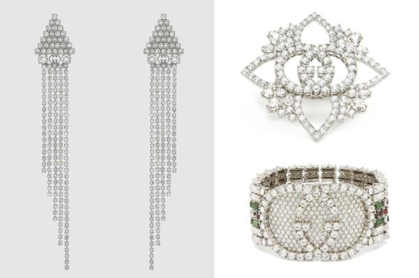 Để phối cùng chiếc váy hai dây màu xanh ngọc của NTK Minh Huyền, Bích Phương chọn những món trang sức pha lê tinh xảo với hoa tai giá 790 USD (hơn 18triệu đồng), nhẫn giá 860 USD (gần 20 triệu đồng), vòng tay giá 1.190 USD (gần 28 triệu đồng).