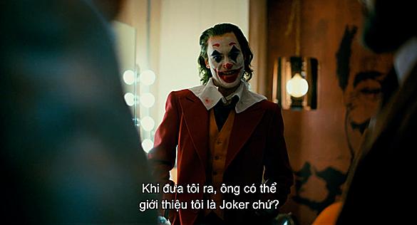 Và cuối cùng, các tên được mong đợi nhất - Joker - đã được xướng lên -