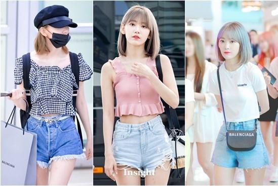 Cô nàng vẫn yêu thích mặc quần short nhưng biết cách phối đồ đa dạng hơn với áo bèo nhún nữ tính, áo crop top khoe eo hay phụ kiện tinh tế.