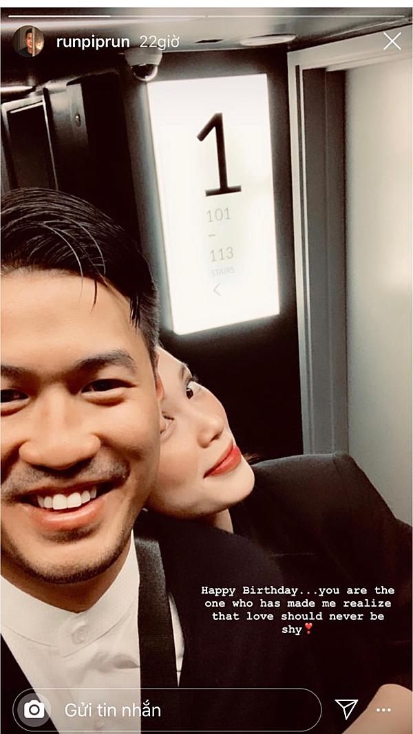 Thiếu gia Phillips Nguyễn lần đầu đăng ảnh tình tứ cùng Linh Rin để chúc mừng sinh nhật bạn gái.