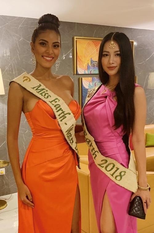 Phương Khánh và Valeria Ayos.
