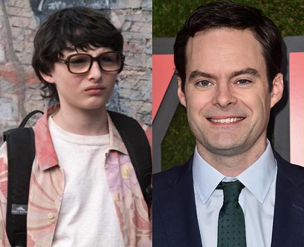 Nhân vật Richie Tozier lúc nhỏ (trái) do cậu béFinn Wolfhard đảm nhận và Bill Hader sẽ đóng vai nhân vật trưởng thành.