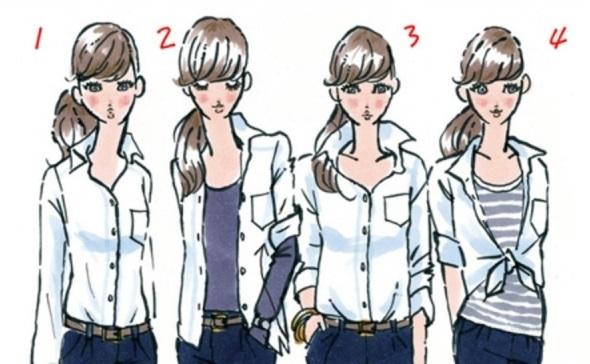 Trắc nghiệm: 5 ưu điểm vượt trội ở bạn qua cách mặc áo sơ mi