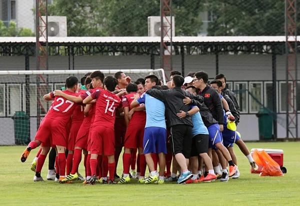 Đọi tuyển Việt Nam được nhận định có tinh thần gắn kết.