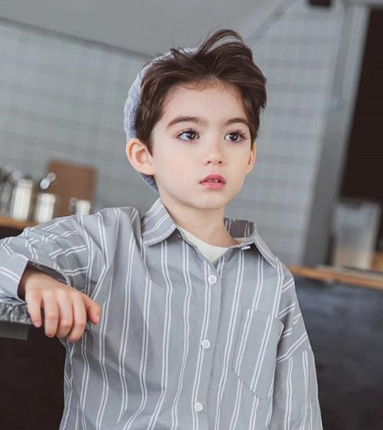 <p> Cooper Jian là gương mặt quen thuộc của nhiều nhãn hàng thời trang dành cho trẻ em ở Hàn Quốc.</p>