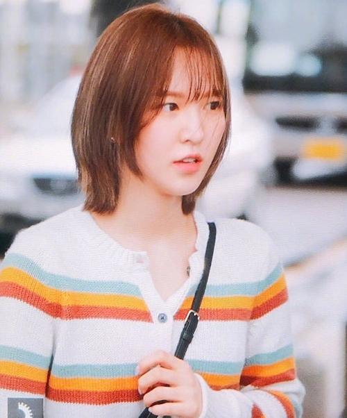 Từ khi cắt tóc ngắn, Wendy trở thành visual không thể bỏ qua của Red Velvet.