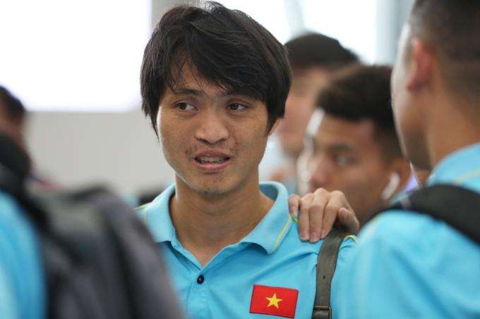 <p> Tuấn Anh được thầy Park khen ngợi có phong độ tốt ở trận đấu tối qua.</p>