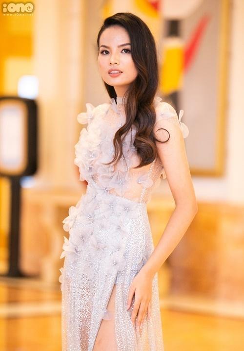 Top 5 Hoa hậu Hoàn vũ Việt Nam - Tiêu Ngọc Linh - không có nhiều hoạt động sau cuộc thi hai năm trước.