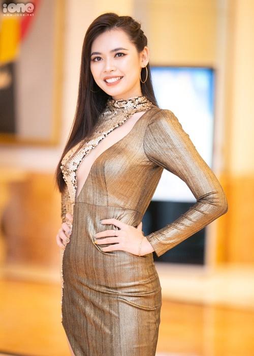 Top 5 Hoa hậu Hoàn vũ Việt Nam - Bùi Thanh Hằng cũng góp mặt tại sự kiện.