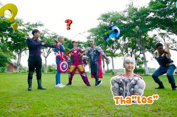 Một nhân vật lầy không kém các anh hùng là Thanos. Nhưng Thanos phiên bản Monstar không lạnh lùng và nhiều sức mạnh như bản gốc. Bốn Avengers dường như không công nhận vị thần găng tay này, họ bày trò gọi tên Thalos và Thonas, khiến các Monee không khỏi nhịn cười qua các comment.