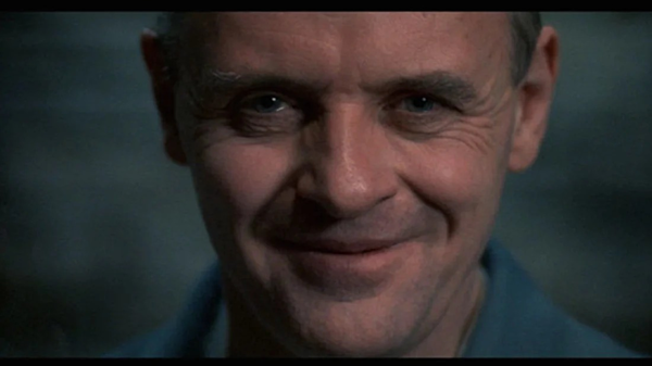 Anthony Hopkins trong vai Hannibal Lecter.
