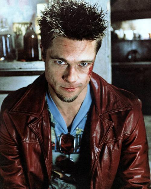 Brad Pitt trong vai Tyler Durden.