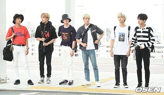 NCT Dream xuất phát đến Indonesia vào ngày 9/9.