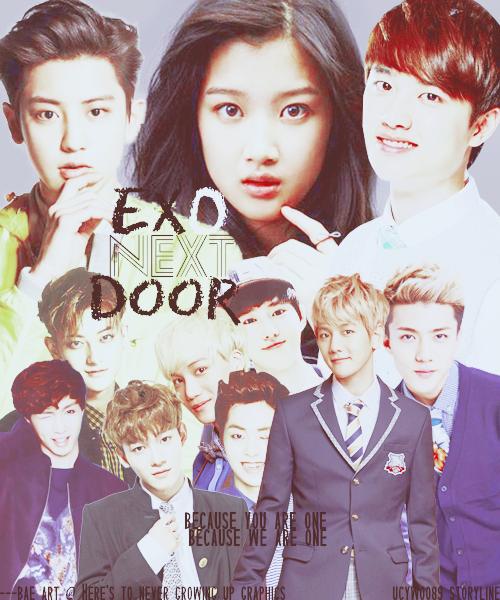 Poster phim 'Exo Next Door'