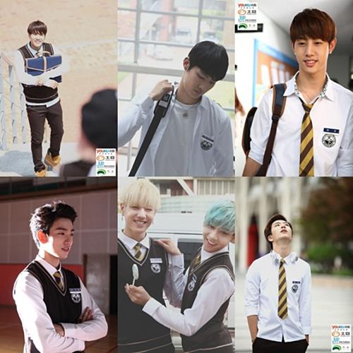 Sức hút của các chàng trai nhà JYP.