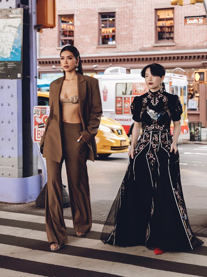 <p> Thầy trò Minh Tú - Hồng Xuân là khách mời trong show diễn của NTK Jason Wu thuộc khuôn khổ New York Fashion Week 2020.</p>