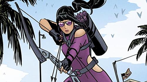 Kate Bishop phiên bản truyện tranh (Ảnh: Marvel Comics).