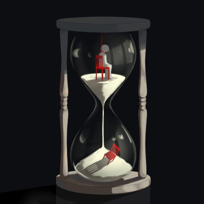<p> Cuộc sống càng vội vã, con người càng gặp nhiều áp lực. Thời gian lạnh lùng không thương xót bất kỳ ai.</p>
