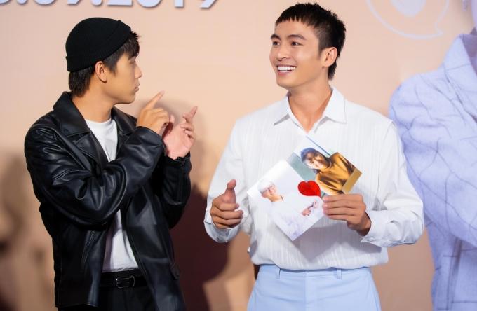 <p> Cặp đôi đam mỹ của phim 'Thưa mẹ con đi' Lãnh Thanh (phải) và Võ Điền Gia Huy.</p>