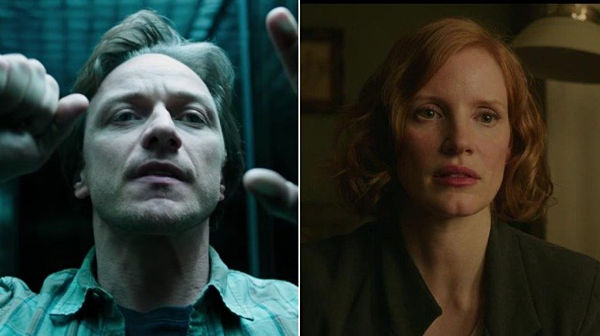 Bill Denbrough (James McAvoy) và Beverly Marsh (Jessica Chastain)