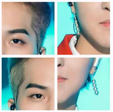 Trộn 4 mảnh ghép lộn xộn, bạn có biết đó là idol Kpop nào? (7) - 9