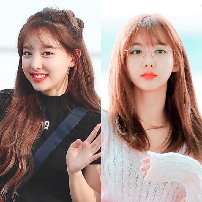 <p> Na Yeon nằm trong trường hợp không đeo kính đã đẹp, đeo kính càng lôi cuốn người nhìn.</p>